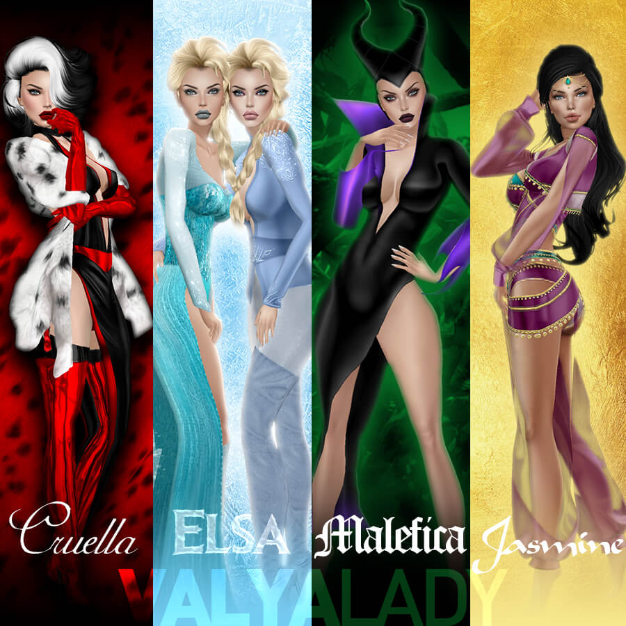 Classic Girls by ValyaLady